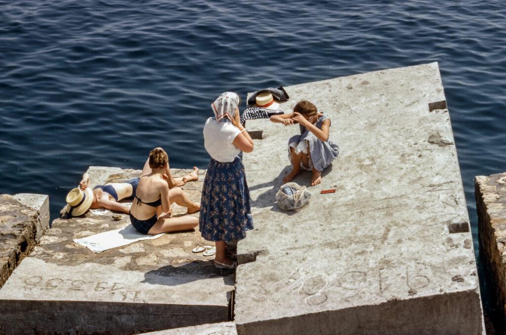 Frauen am Meer