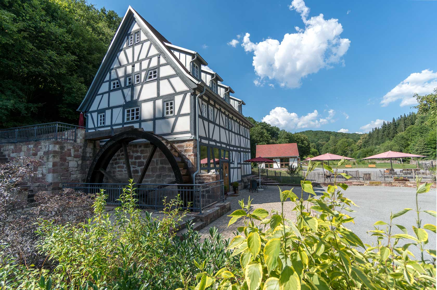 Seemühle am Tag