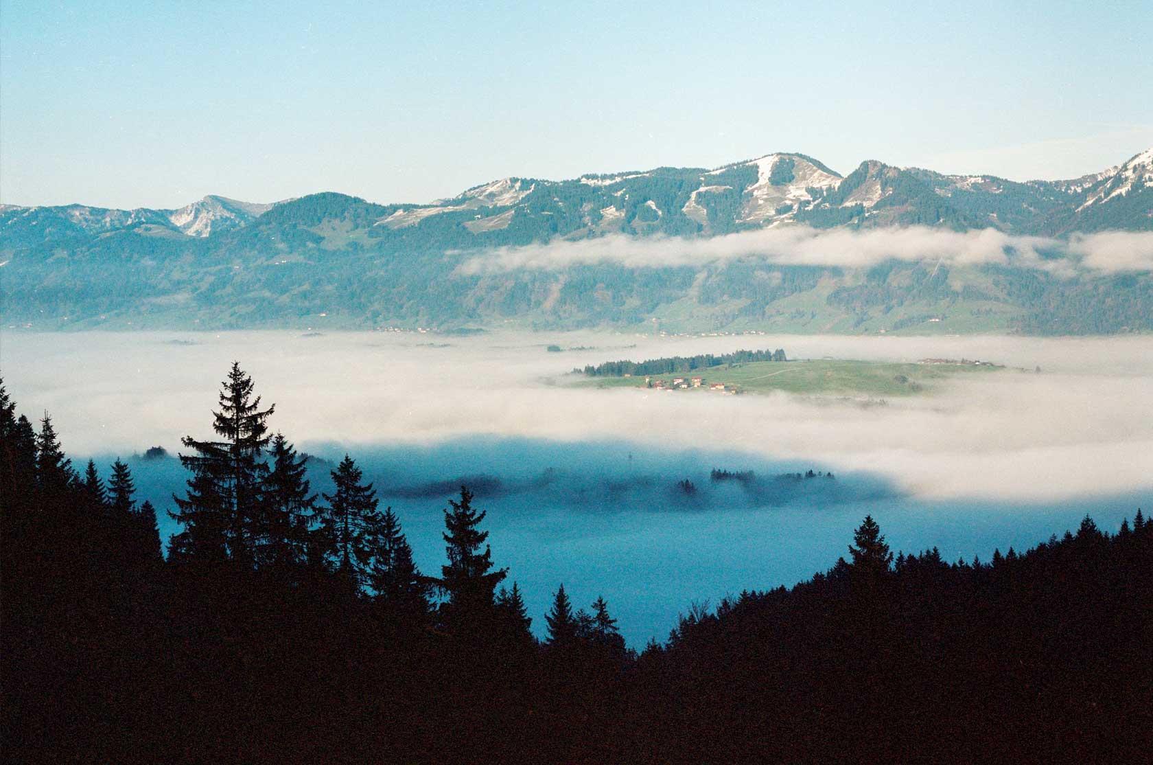 Gaisalpe Nebel