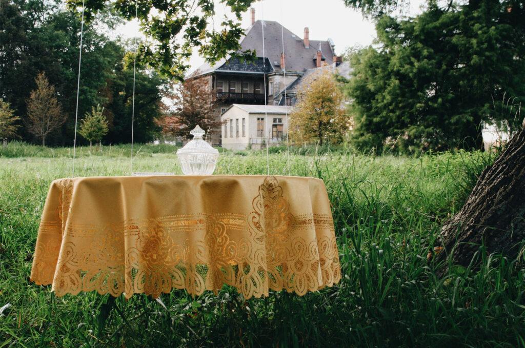 Tisch im Freien