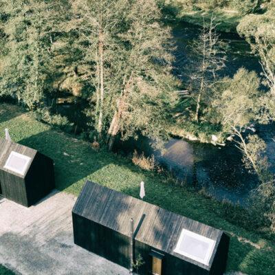 tiny house am waldrand und fluss